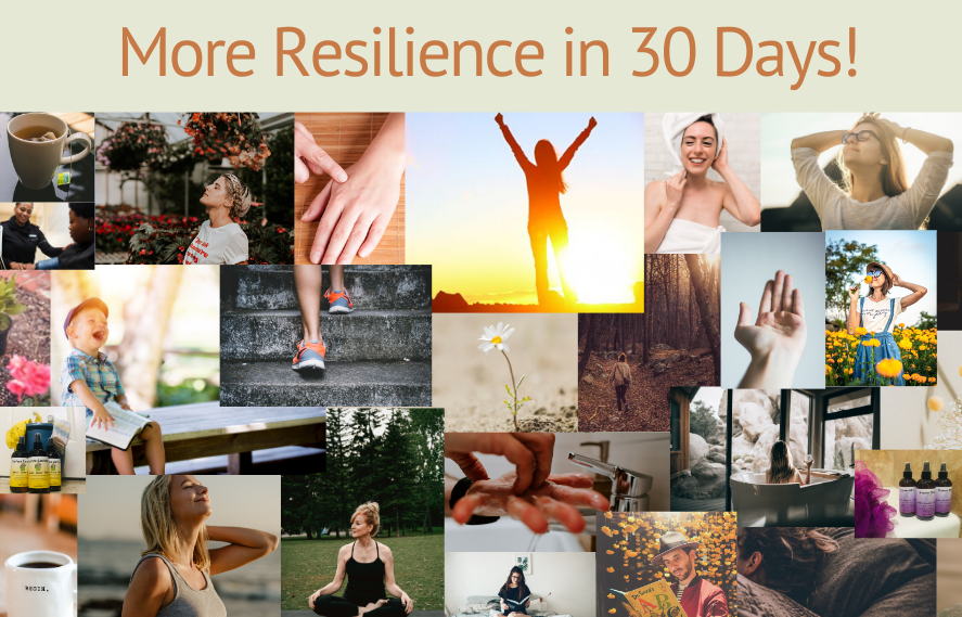 Caryn has designed a 30-day free aromatherapy course specifically for nurturing resilience.