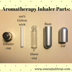 Making your own aromatherapy inhaler is easy when you use Essential Three's new DIY inhaler kits.