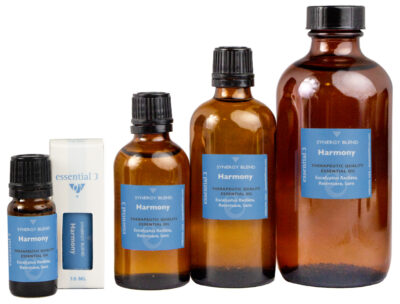 e3's Harmony Blend of essential oils is designed to help you balance the demands of a hectic life