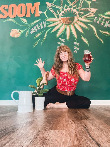 Jenna Gallagher, owner of Southern Oregon OM, says that dis-ease in the body is manifested in a body that doesn't have ease, so to maintain wellness we need ease and balance.