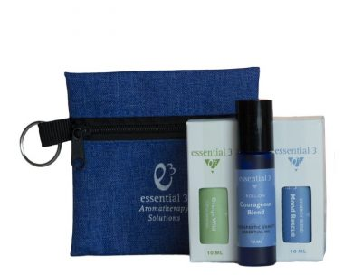 Customize e3's Mood Lifting Kit with 3 mood lifting essential oils and blends