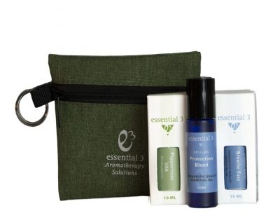 e3's Happy Travel Kit allows you to personalize your essential oils travel kit, plus receive a nice discount off the regular price of oils sold separately!