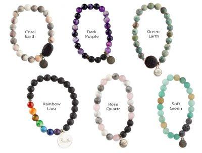 Elelgant aromatherapy diffuser bracelets