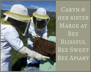 Beeswax from Bee Blissful Bee Sweet Bee Apiary is used in e3's moisturizing lip balm.