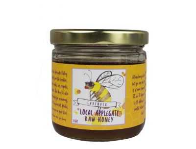 Local Raw Honey with Lavender essential oil