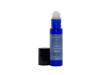 e3's Female Harmony Roll-on that helps ease hormonal imbalances and gets you back to feeling like yourself again.