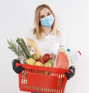 Do your grocery shopping during this pandemic with more confidence when you use e3's face mask spritzers.