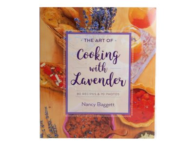 The Art of Cooking with Lavender teaches you the best lavender varieties to use and what ingredients pair best with lavender, and give you 80 yummy recipes.