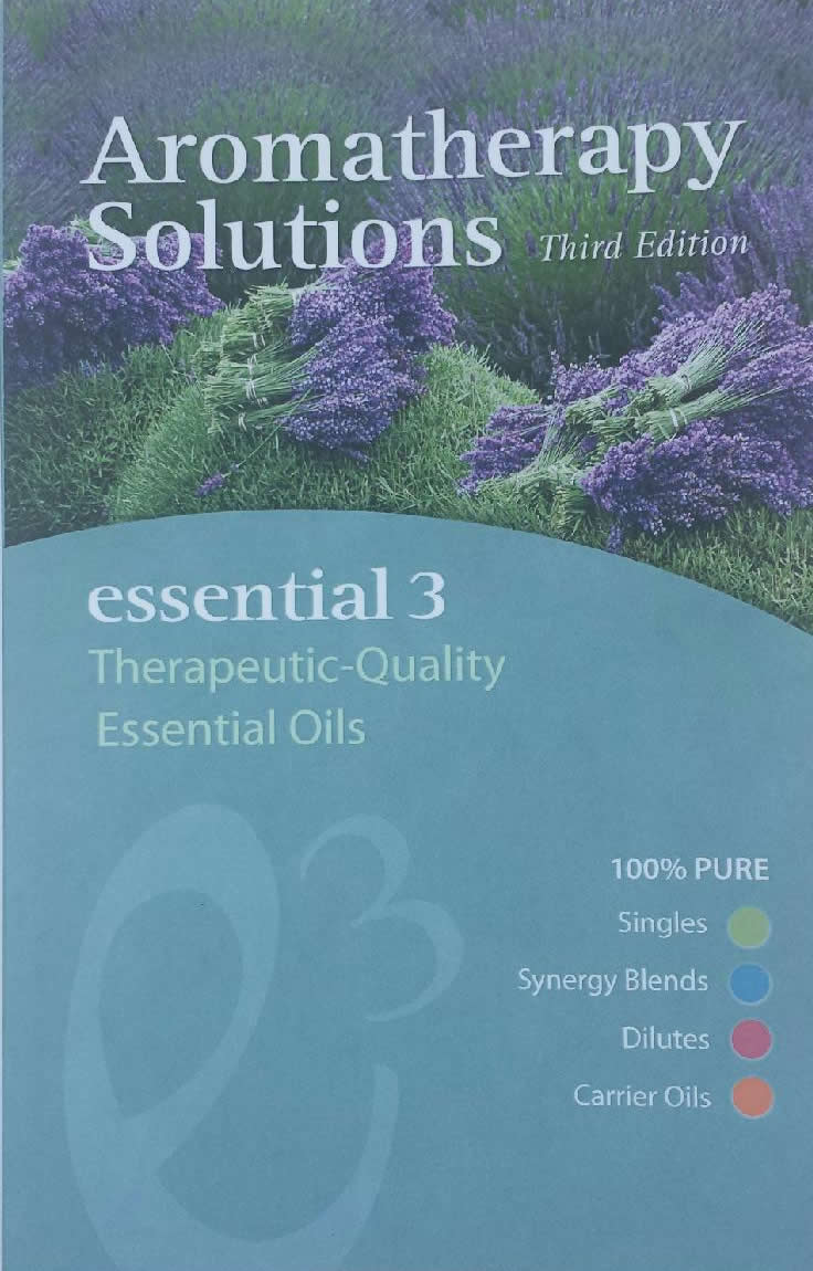 Aromatherapy Solutions – Essential 3 Therapeutic Quality Essential Oils