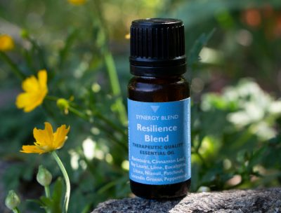 e3's Resilience Blend combines 11 essential oils known for anti-viral properties, supporting health and well being and smells good too!