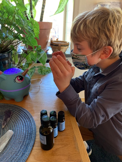 Put essential oil in the classroom diffuser for a safe and calm atmosphere that promotes study, focus and learning