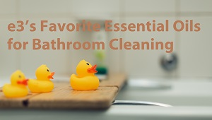 Clean and disinfect your bathroom with these DIY recipes that use our best essential oils for bathroom cleaning.