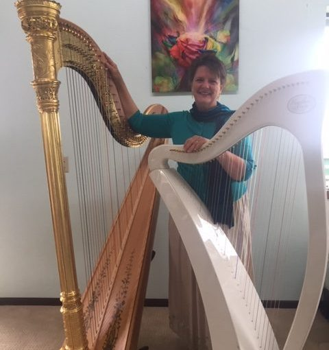 Caryn interview Celia Canty, a Certified Healthcare Musician and Providence Hospice Harpist, about how she incorporated music and aromatherapy