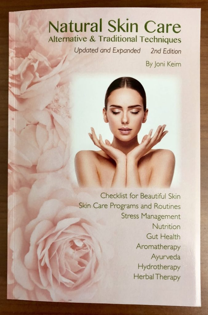 "One of e3's favorite skin care books, ""Natural Skin Care: Alternative & Traditional Techniques"" by Joni Keim"
