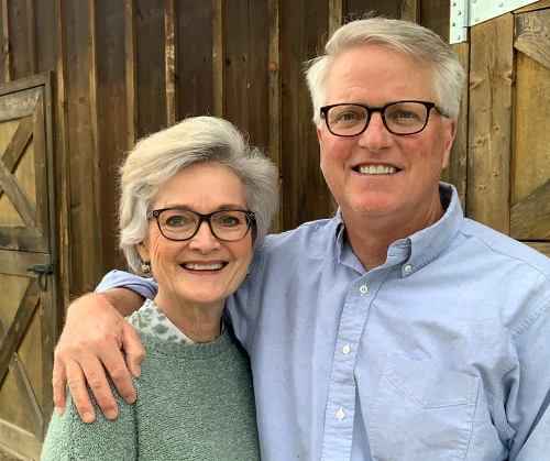 I'm really pleased to introduce to you the new owners of Lavender Fields Forever, Rob and Marcy Rustad. I love the thoughtful, heartfelt approach the Rustads are taking to their new adventure as lavender farmers!