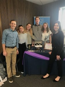 e3 helped students from the Lacy School of Business at Butler University to start an essential oil business as a school project